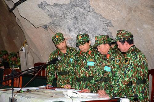Quảng Ninh: Hoàn thành diễn tập khu vực phòng thủ tỉnh năm 2017