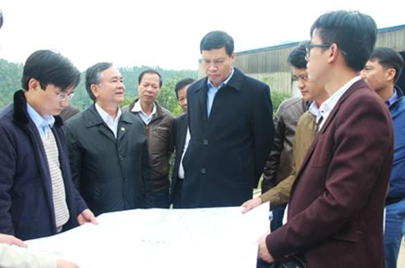 Giải quyết vướng mắc 3 năm ở Nhà máy đốt rác Khe Giang.