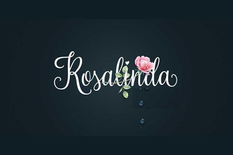 [Download] Font chữ viết tay Rosalinda Việt hóa