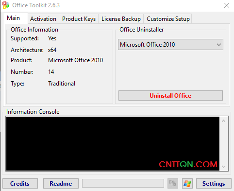 ToolKit 2.6.3 công cụ cr@ck Microsoft Office và Windows