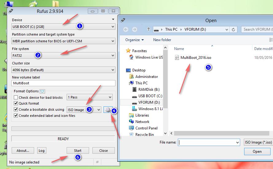 Rufus 2.9 - Công cụ tạo USB Boot hệ điều hành tốt nhất
