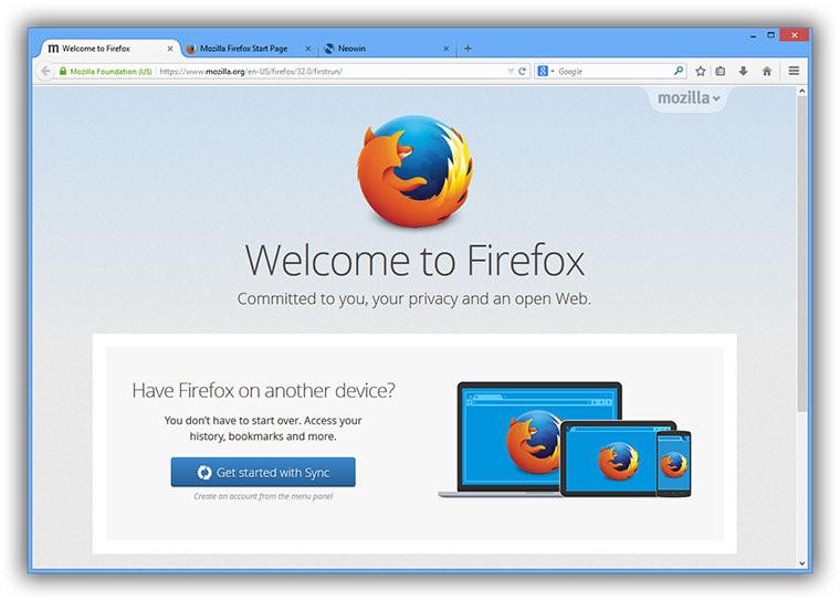 Download Firefox 50.0.1 - Trình duyệt web siêu tốc