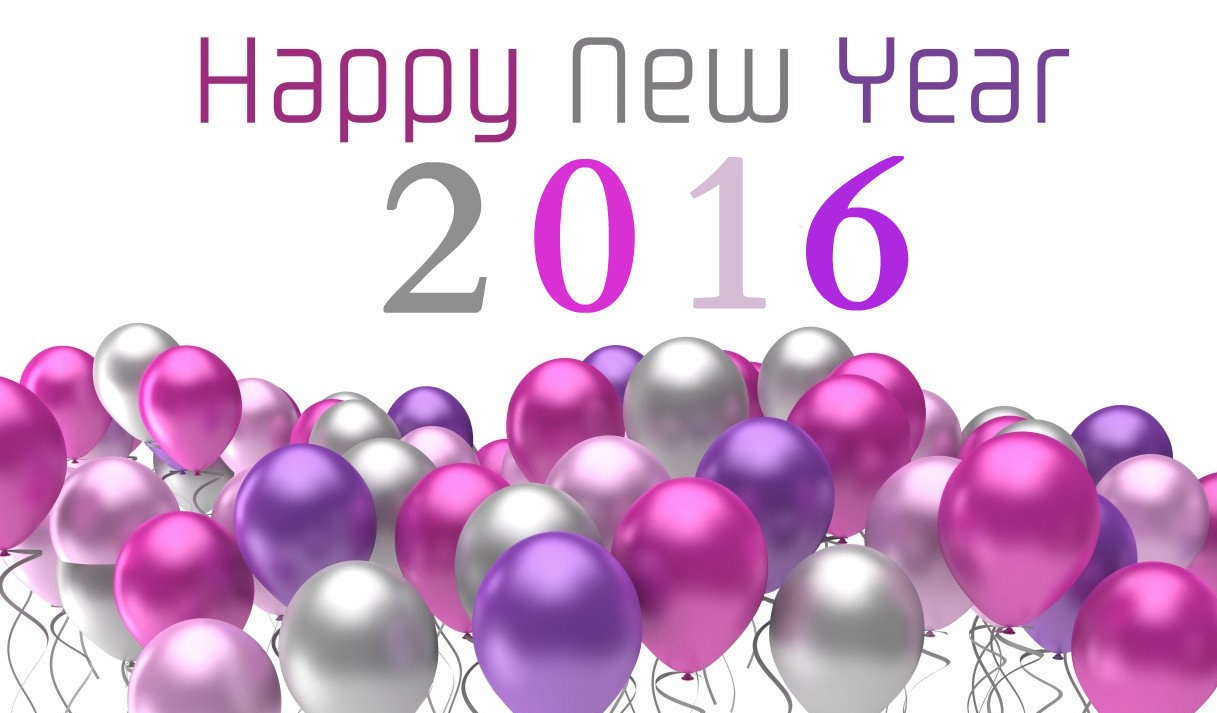 Hình nền Happy new year 3D Wallpaper 2016