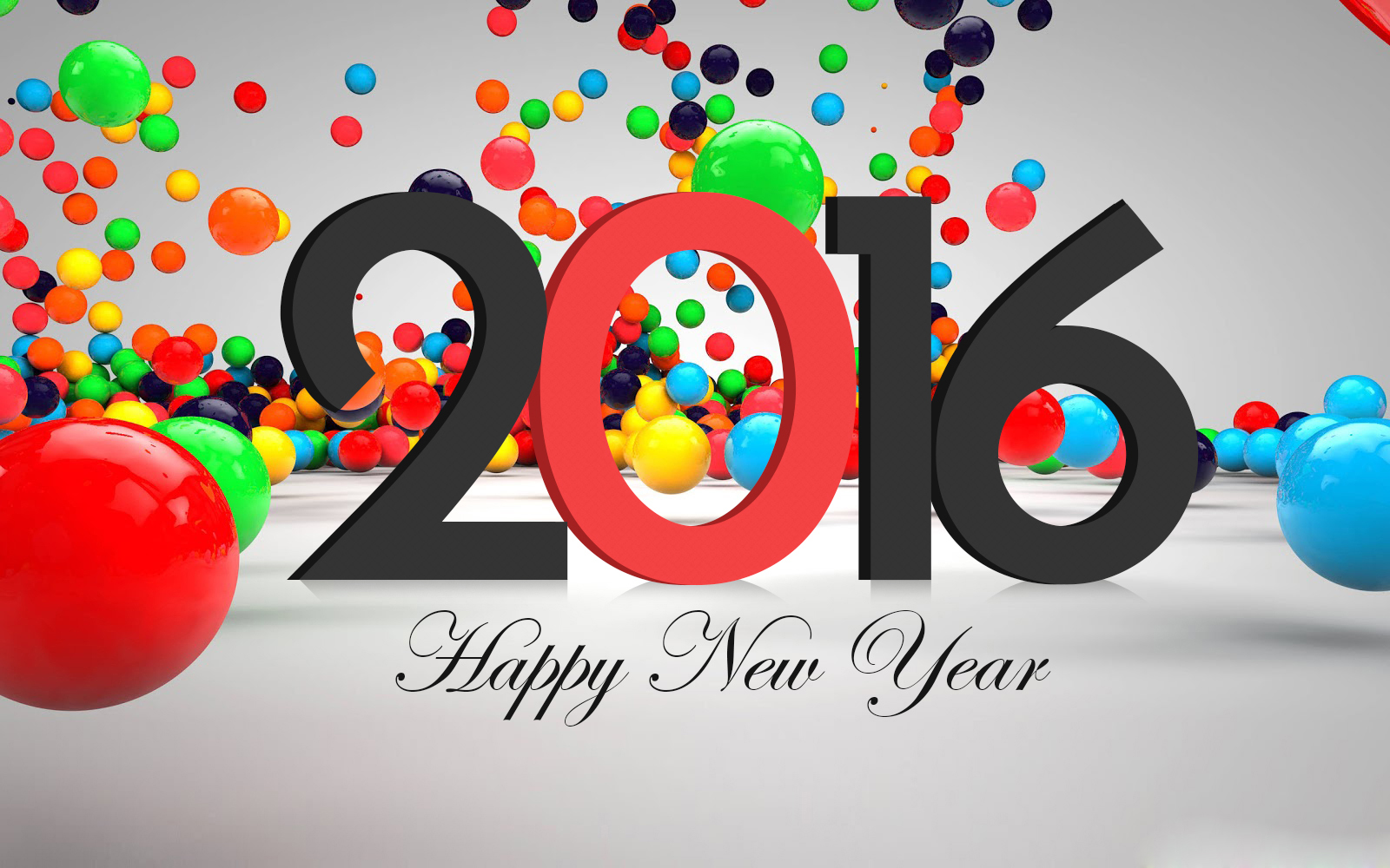 Hình nền Happy New Year 2016 HD Wallpaper