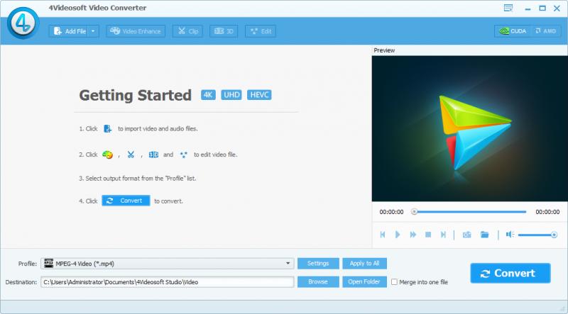 4Videosoft Video Converter Ultimate 6.0 - Chuyển đổi định dạng