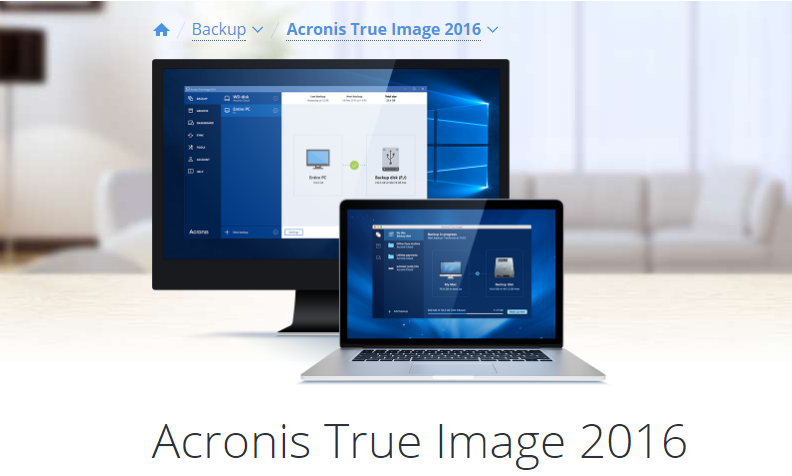 [Download] Phần mềm Acronis True Image 2016 Full