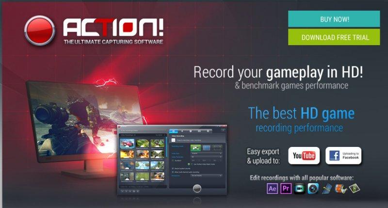 Action! 1.31.5 - Phần mềm quay video game, quay phim máy tính