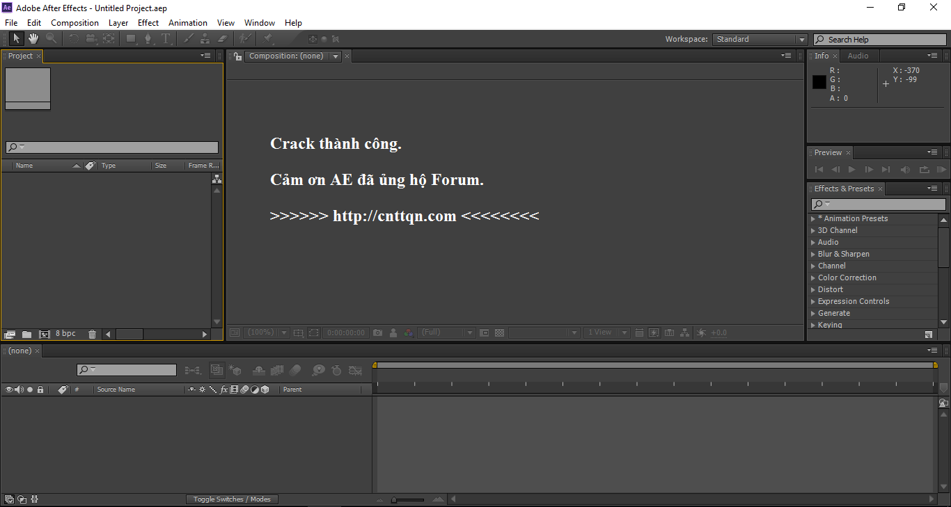 Adobe After Effect CS6 link google drive