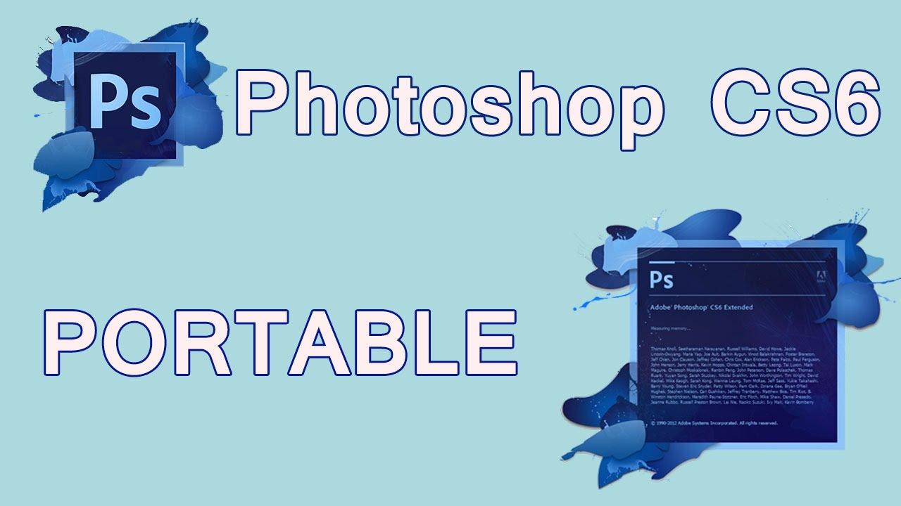 Hướng dẫn cài đặt Adobe Photoshop CS6 Portable