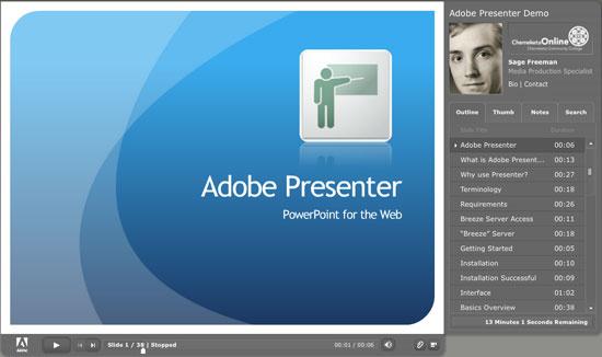 Download Adobe Presenter 11 Full cr@ck - Phần mềm thiết kế bài giảng điện tử.