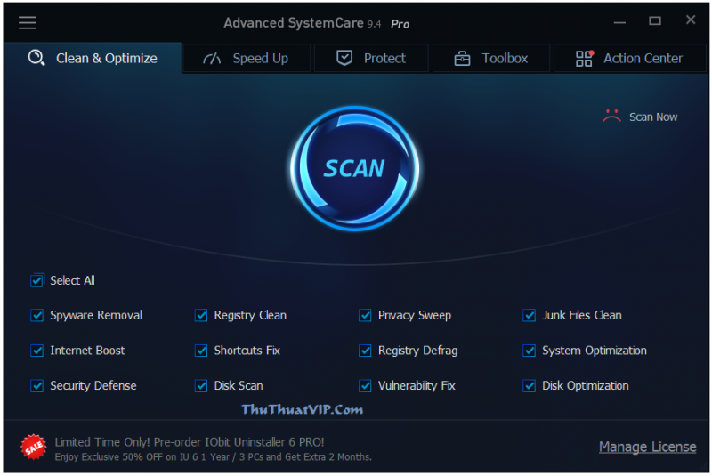 Advanced SystemCare Ultimate 9.4 Full Free