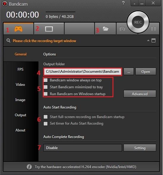 Bandicam 3.2.4.1118 Full - Phần mềm quay video game
