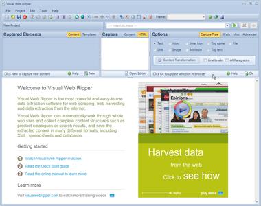 Visual Web Ripper v3.0.10 - Trích xuất dữ liệu trang web
