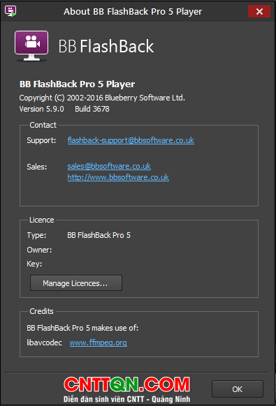 BB FlashBack Pro 5.9.0 Full  - P.m quay màn hình