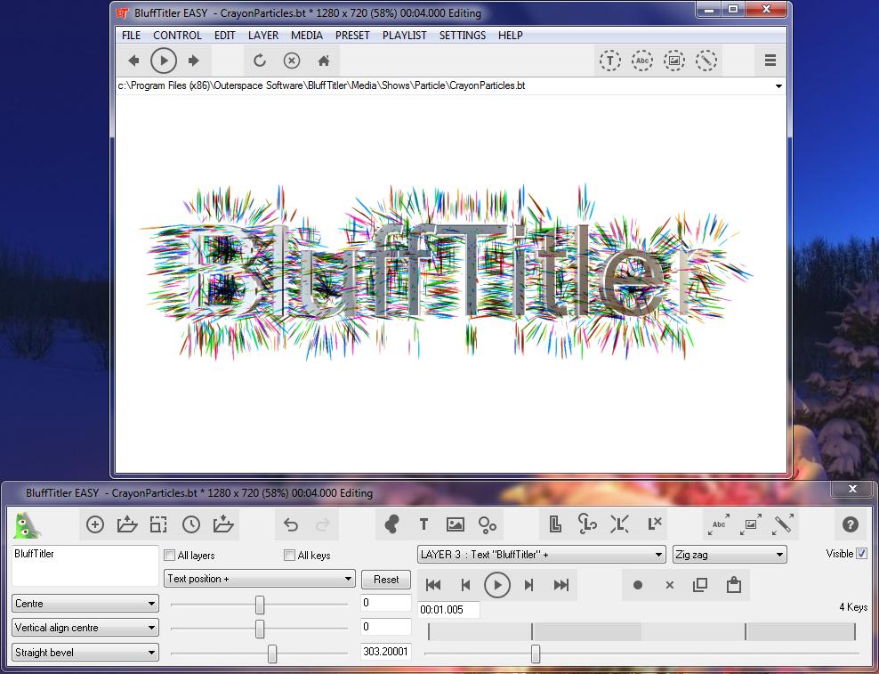 BluffTitler Ultimate 13 Full - Tạo video hiệu ứng chữ 3D