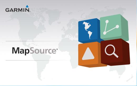 MapSource 6.16.3 - Phần mềm hỗ trợ Garmin GPS