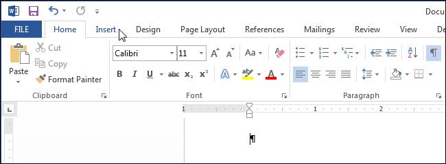 Cách chèn ngày giờ trong Microsoft Word
