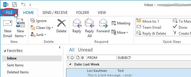 Cách vô hiệu Auto-Complete trong Outlook 2013