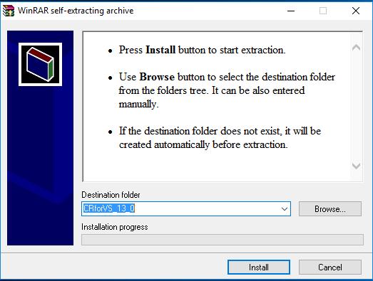 File Cài đặt Crystal Report Trong Visual Studio 2010