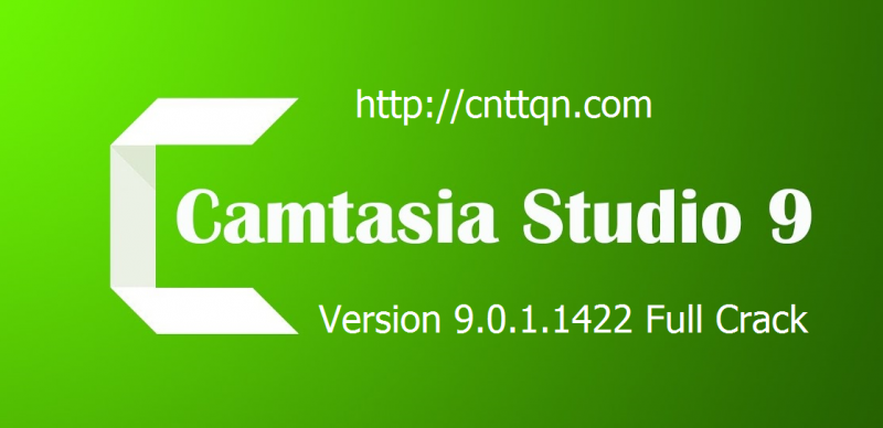 Phần mềm Camtasia Studio 9.0.1 Full