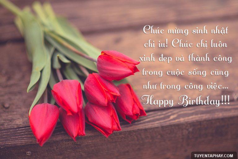 Những câu chúc mừng sinh nhật chị gái hay và ý nghĩa nhất 2016