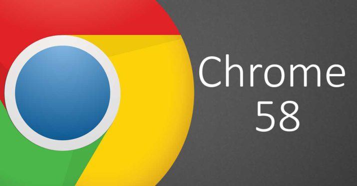 Google Chrome 58.0 - Trình duyệt web, tốc độ, đơn giản và bảo mật
