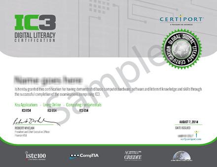 Chứng chỉ tin học và kỹ năng sử dụng CNTT