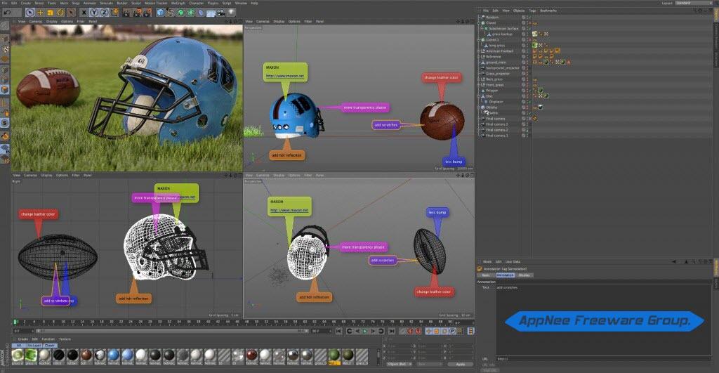 [Download] Phần mềm Maxon Cinema 4D R18 Full