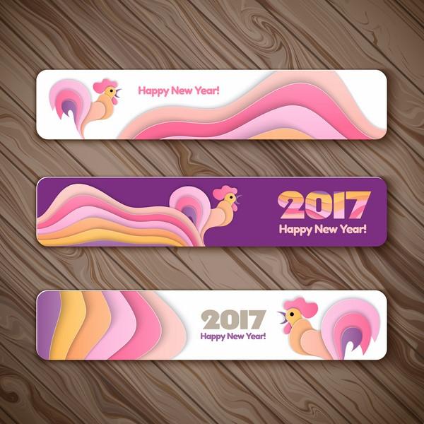 Stock Happy New Hear 2017 Làm Thiệp Tết cực Đẹp P3