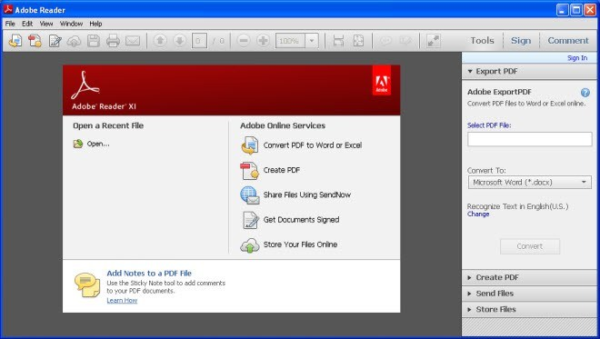 Adobe Reader 11.0.20 - phần mềm đọc PDF, chỉnh sửa PDF...chuyên nghiệp