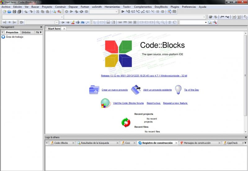 Codeblocks 16.01