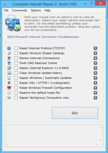 Complete Internet Repair - Sửa Lỗi Máy Tính Bị Mất Kết Nối Mạng