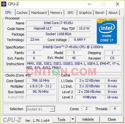 Download CPU-Z 1.79.1 - Phần mềm xem thông tin phần cứng máy tính