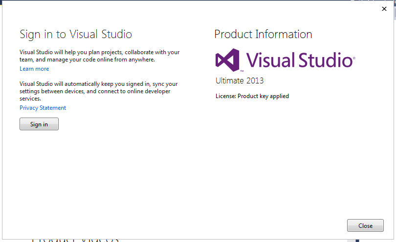 crack visual studio 2013
