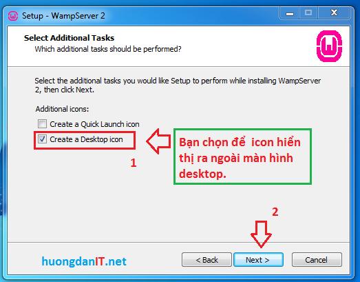 Hướng dẫn cài đặt WampServer 2.5