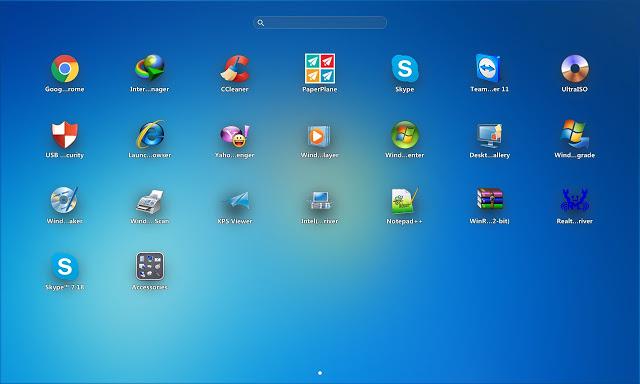 PaperPlane - Đổi giao diện phong cách iPad cho Windows XP/7/8/8.1/10