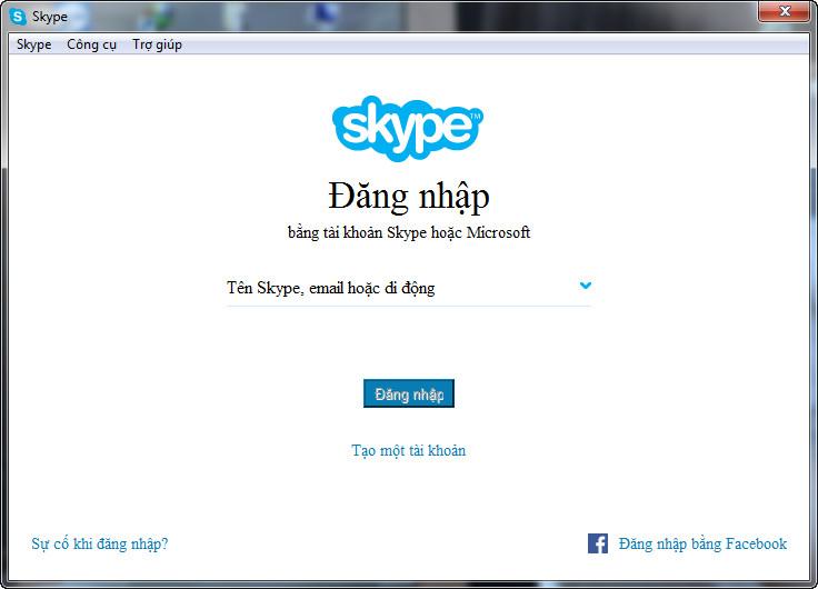 Skype 7.34.0.103 - phần mềm gọi điện - nhắn tin SMS miễn phí