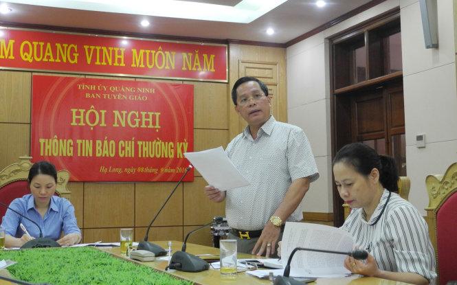 Dừng ăn tiệc trong hang động vịnh Hạ Long trước ngày 30-9