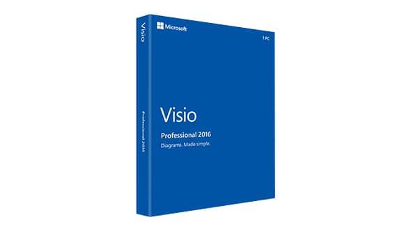Microsoft Visio 2016 Full cr@ck – Chương trình vẽ sơ đồ trên Office