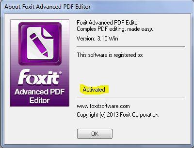 Foxit Advanced PDF Editor 3.10 - Chỉnh sửa file PDF
