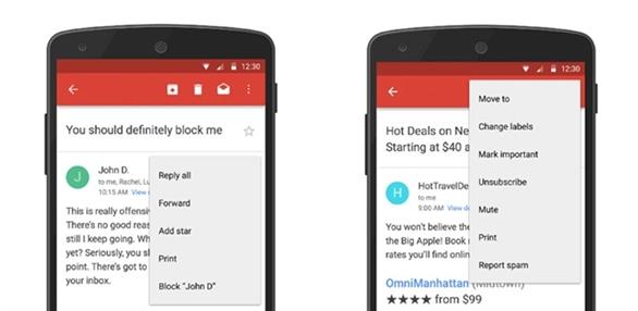 Gmail: Cách chặn người gửi và ngừng nhận email theo dõi