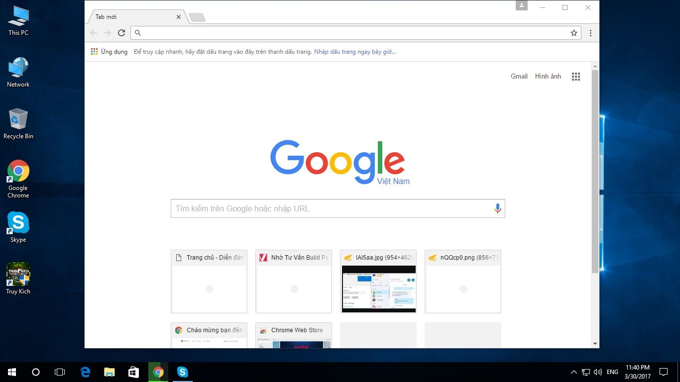 Google Chrome 57.0.2987.133 - Lướt web, xem phim và nghe nhạc