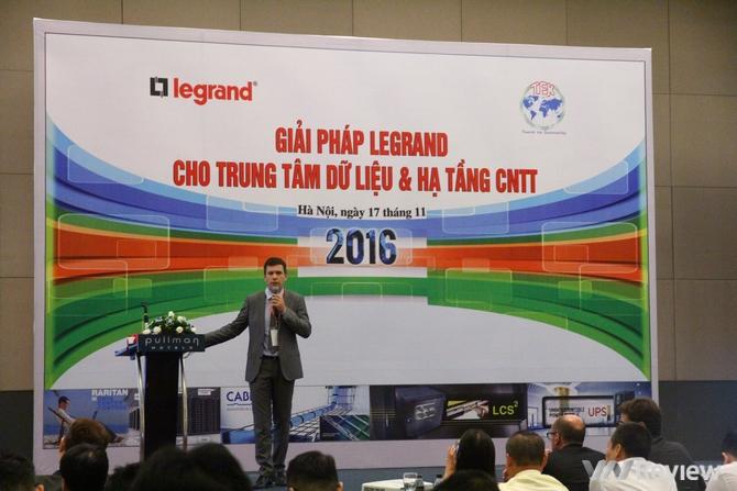 Legrand ra mắt các giải pháp trung tâm dữ liệu và hạ tầng CNTT tại Việt Nam