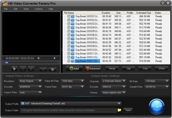 [Download] HD Video Converter Factory Pro 8.7 Full