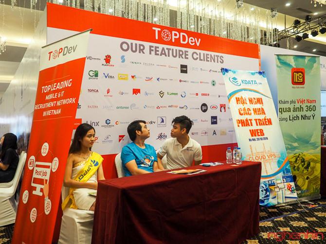 Hội nghị về web VWS 2016 thu hút lập trình viên