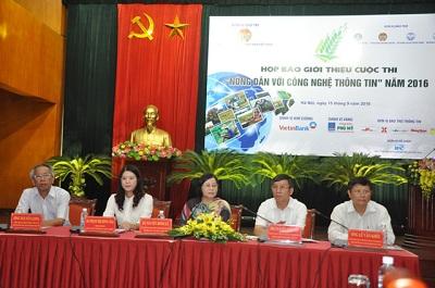 Phát động cuộc thi nông dân ứng dụng công nghệ thông tin