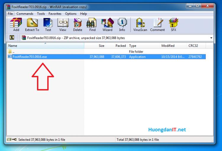 Cài đặt phần mềm đọc file pdf – Foxit Reader
