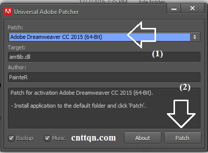 Download Dreamweaver CC 2015