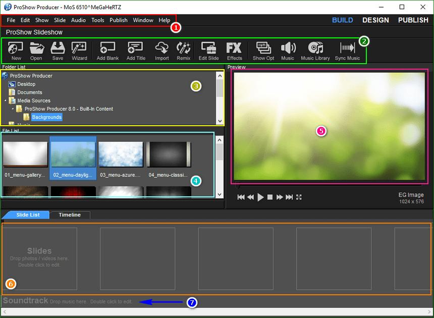 Hướng dẫn làm video trên Proshow Producer 8.0