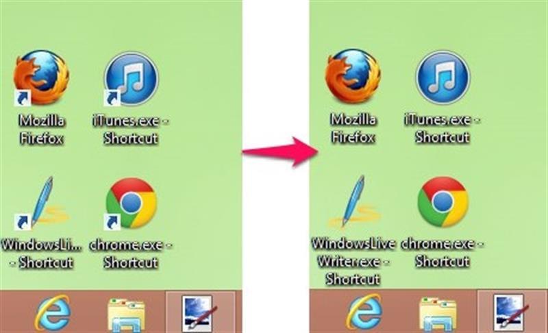 Phần mềm xoá mũi tên Shortcut trong windows
